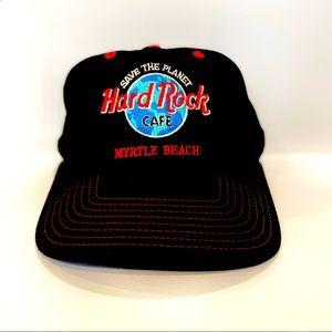 HARD ROCK CAFE-Vintage Myrtle Beach Baseball Cap.